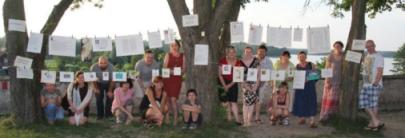 Letnia Szkoła Kaligrafii i Iluminacji - Wigry 2012 & projekt Godzinki Wigierskie